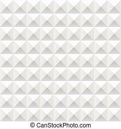 White samples geometric pattern