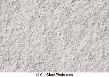 White sand background or texture