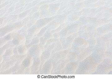 white sand background