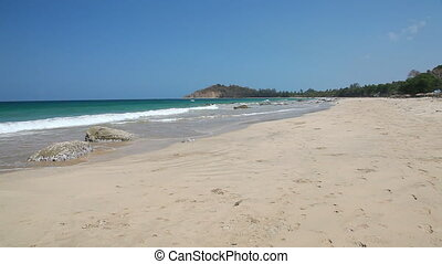 White sand beach - Ngapali beach, Myanmar