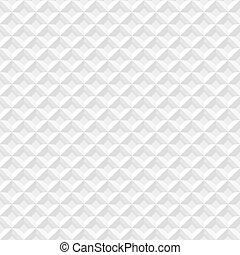 White seamless geometric pattern