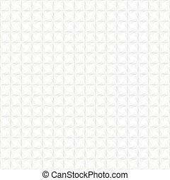 White seamless geometric pattern. Vector background