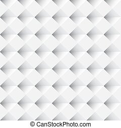 White seamless geometric pattern vector background