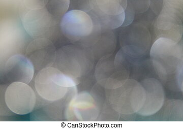 White Sequin Blur