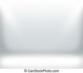 White Show Room Background