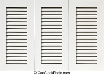 White shutters - Window with white shutters