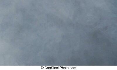 White smoke slow motion video