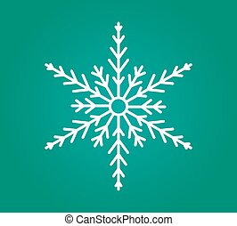 White snowflake icon.