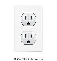 white socket
