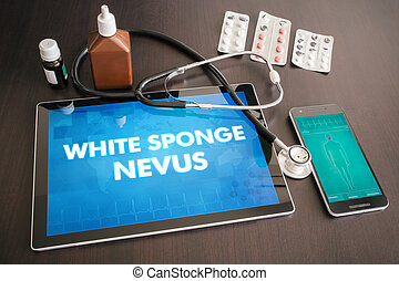 White sponge nevus (cutaneous disease) diagnosis medical...