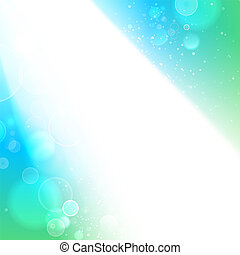 White spots on blue background.