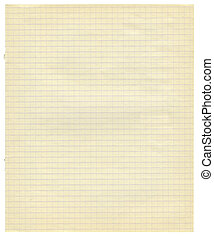 textured background, paper background - White squared paper...
