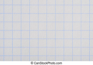 White squared paper sheet texture