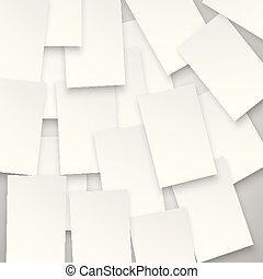 White squares on gray background, vector