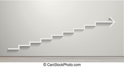 White Stairs Arrow