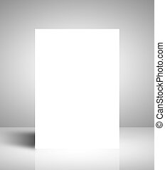 white stand on white interior