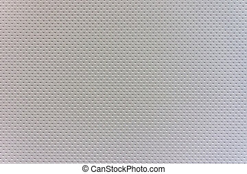 White Stitched Leather - A white leather background with a...