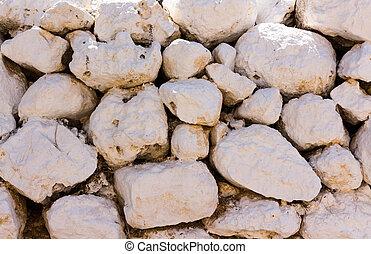 white stone wall 2