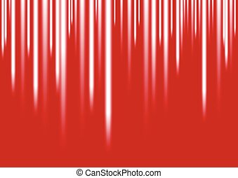 White stripes on red background