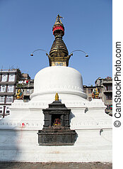 White stupa