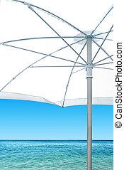White Sunshade