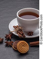 white tea cup a