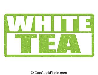White tea stamp
