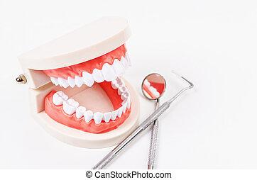 Dental care concept.