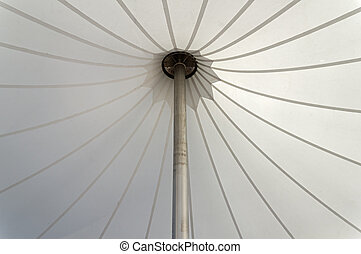 White Tent Canopy