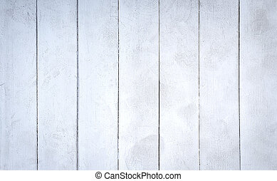 White texture of weathered wooden planks.
