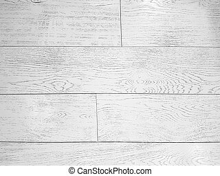 White texture of weathered wooden planks floor