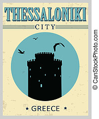 White Tower from Thessaloniki poster - White Tower from...