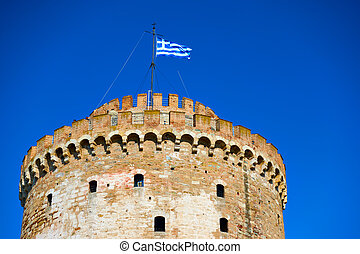 White Tower in Thessalonica - The White Tower in...