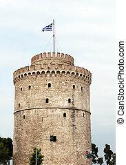 white tower Thessaloniki famous landmark