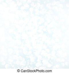 White vector bokeh background
