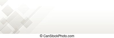 White vector panoramic background with wavy lines and shadows
