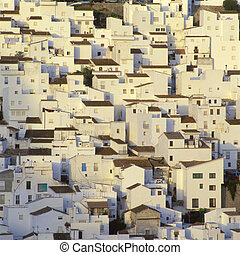 white village, Casares, Andalusia, Spain