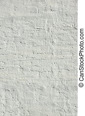 White Vintage Wall Vertical Background