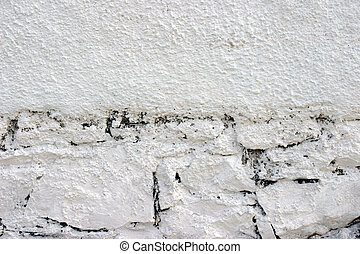 White wall abstract