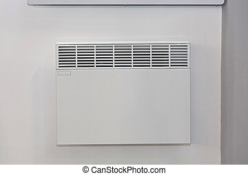 White Wall Heater