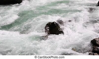white water - whitewater in the yosino national park-yosino...