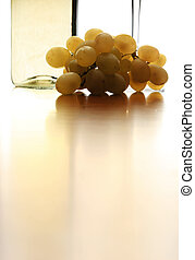 White Wine Abstract