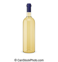 White wine bottle.