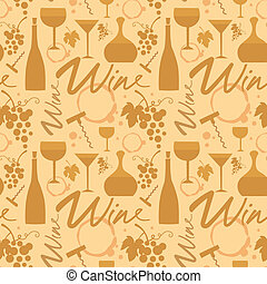 white wine pattern