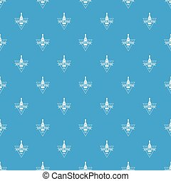 White wine pattern vector seamless blue