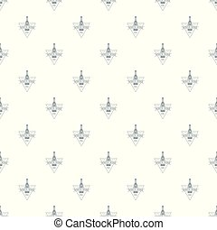White wine pattern vector seamless