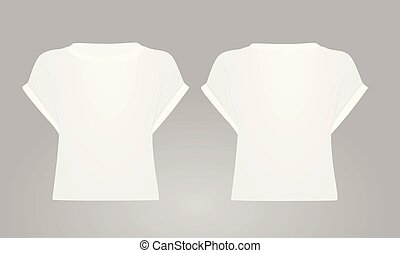 White women crop top
