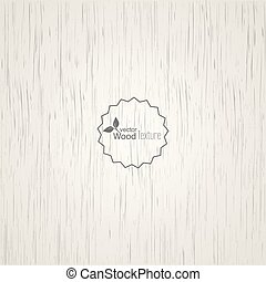 White wood background.