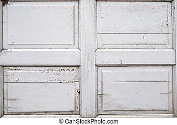White Wood Door Texture