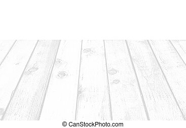 White wood floor plank on white background.